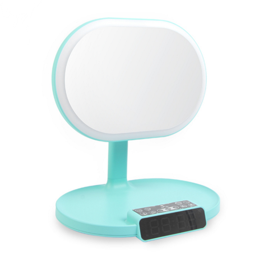 Rotation Led Makeup Mirror Touch Screentabletop Night Lamp